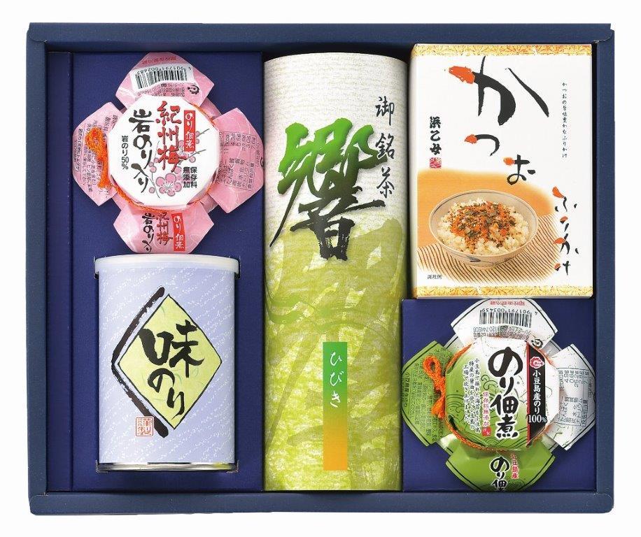 銘茶・佃煮・ふりかけ・味海苔詰合せ